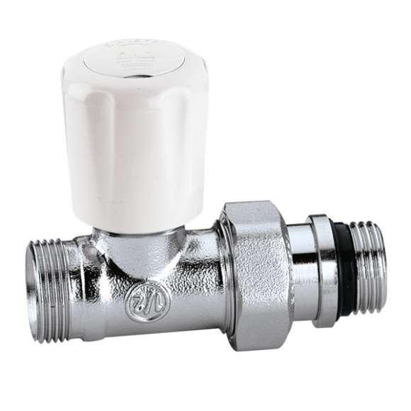 426 - 直型手/自动互换型温控阀,适合于铜管和塑料管,带预调节