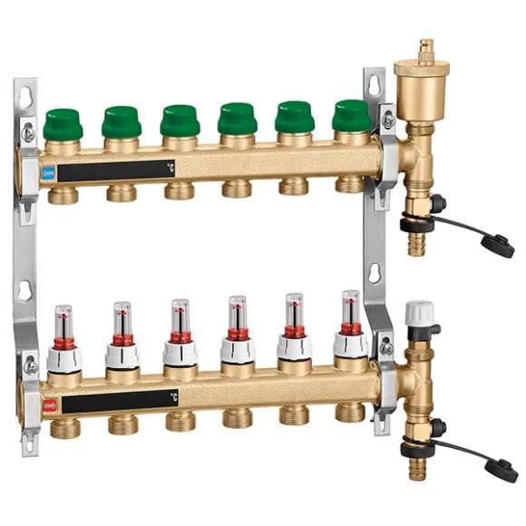 665 - DYNAMICAL® - 黄铜热压动态平衡型分水器