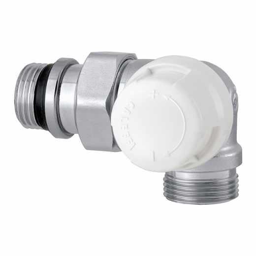 226 - 三维型自动温控阀,右侧型,适合于铜管和塑料管