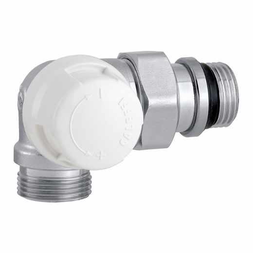 226 - 三维型自动温控阀,左侧型,适合于铜管和塑料管