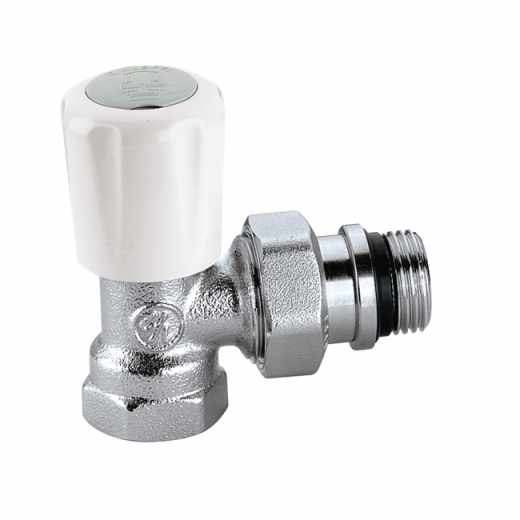 401 - 角型手/自动互换型温控阀,适合于钢管