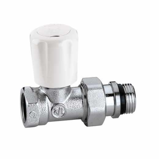 422 - 直型手/自动互换型温控阀,适合于钢管,带预调节