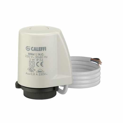 6564 - 低电流热电执行器,带辅助控制开关
